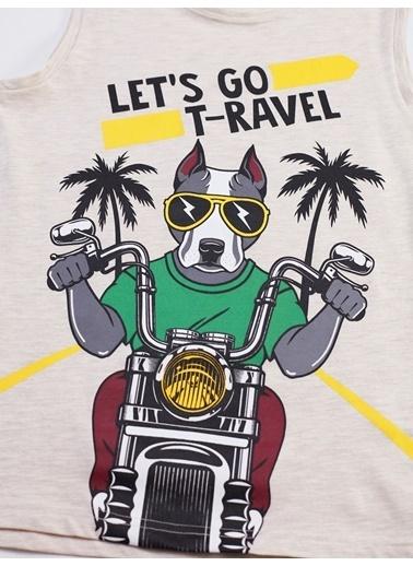 Mushi Traveller Erkek Çocuk Kapri Takım Renkli